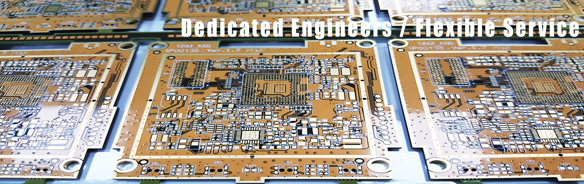 Flexible board、Rigid-Flex Board、HDI PCB (Any layer、Buried